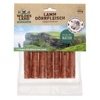 wildes land hunde snack lamm doerrfleisch 7 stk