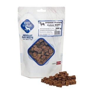 petsolut pferde protein cubes soft 200g