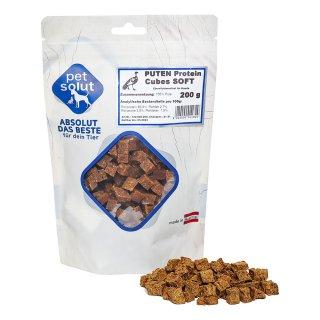 petsolut puten protein cubes soft 200g