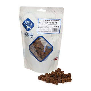 petsolut rinder protein cubes soft