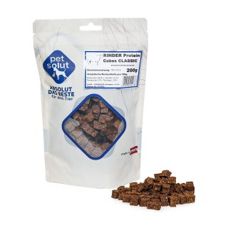 petsolut rinder protein cubes classic